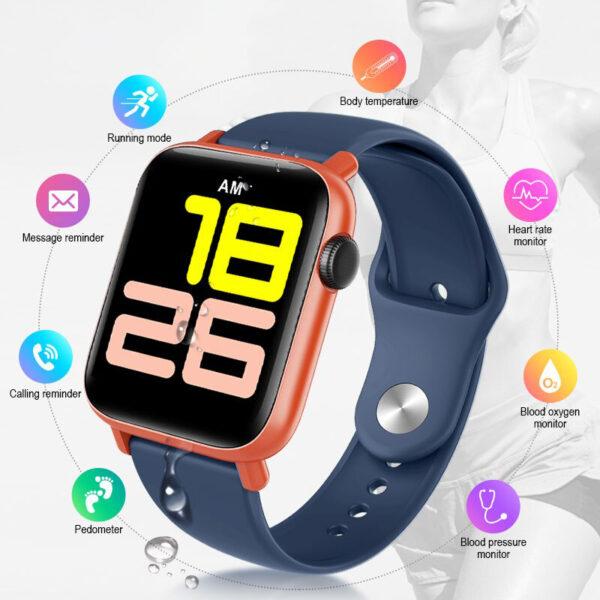 qs19 smart watch body thermometer online ibuy al