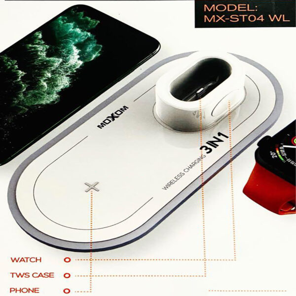 moxom wireless charging 3 in 1 online ibuy.al