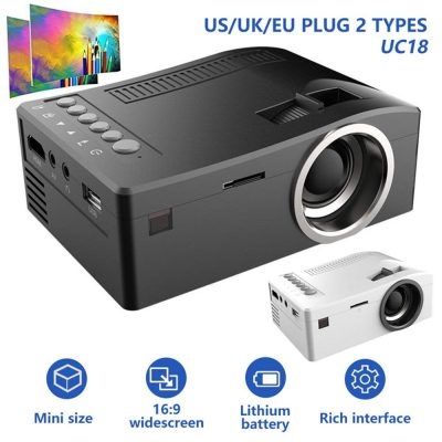 Mini LCD - Unic Uc 18 Video Projector ibuy al