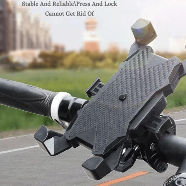 Black Bike Phone Holder Universal Phone ibuy al
