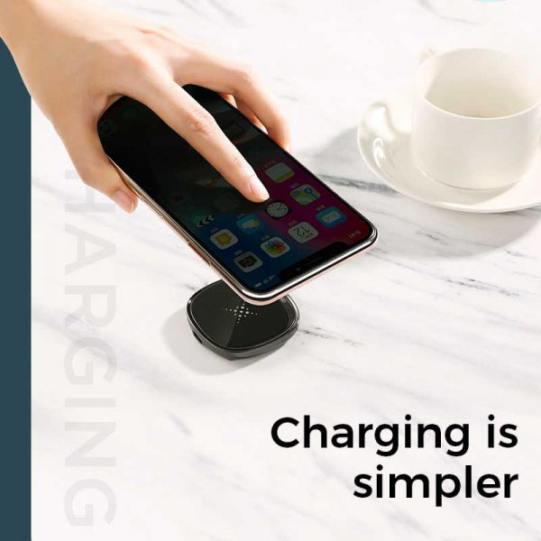 10W Fast LED Wireless Charger online ibuy al