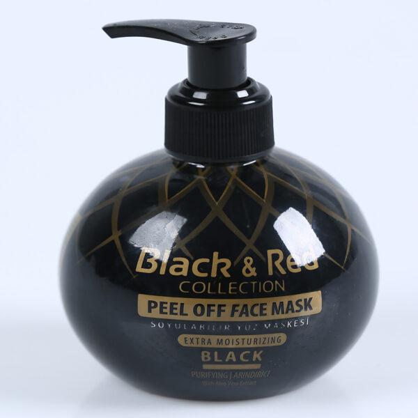 b&r peel of face black 250ml ibuy al