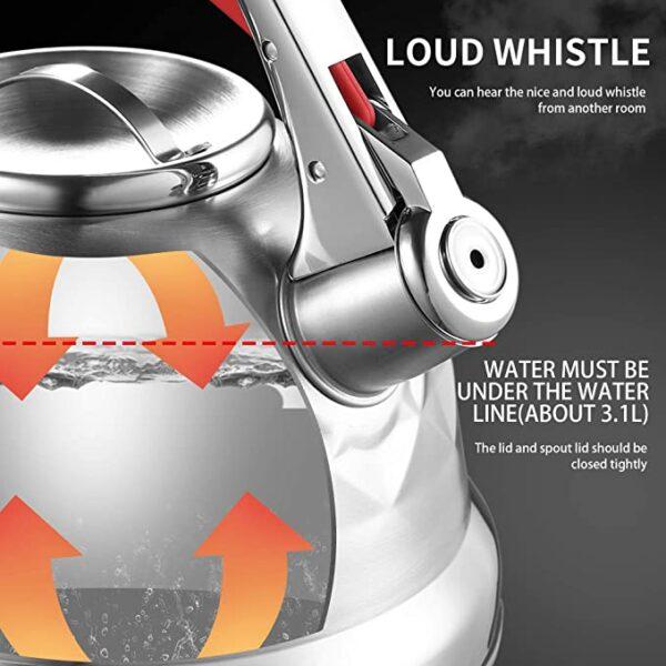 ibrik whistling kettle 3.5l online ibuy al