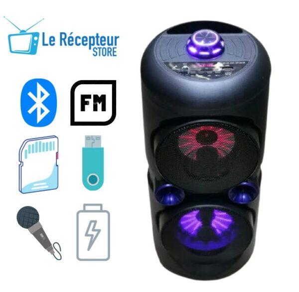 CH-V4201 Dual 6 Inch Bluetooth HiFi Speaker ibuy al