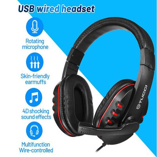 Tucci Q3 Gaming wired Headphone online ibuy al