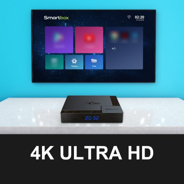 X96 Mate Smart TV BOX Android 10 ibuy al