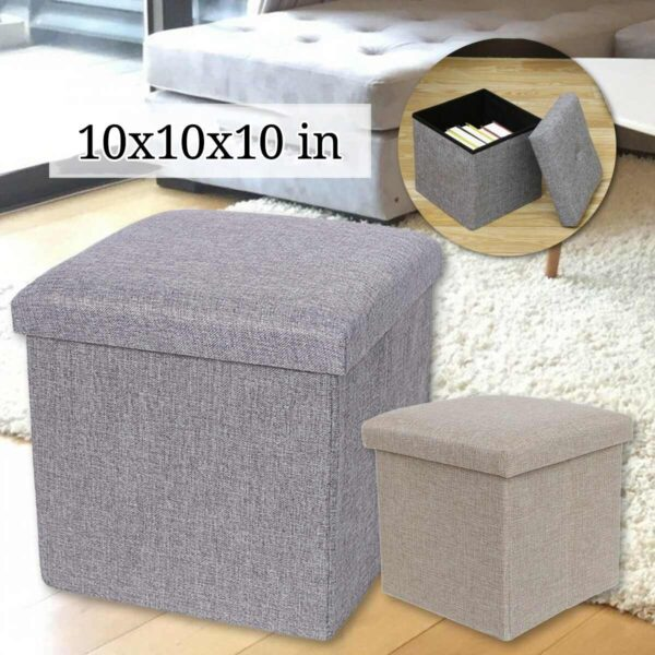 multifunctional foldable storage stool ibuy al