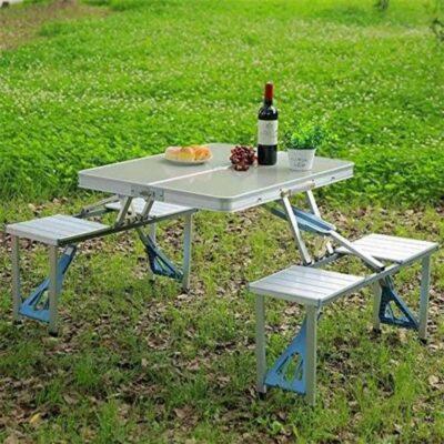 Tavoline dhe karrige portative per piknik