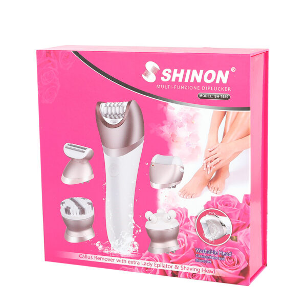 Depilator dhe pastrues per kallot-Shinon