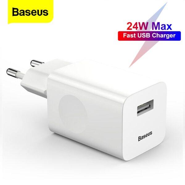 Baseus 24w quick charger ibuy al