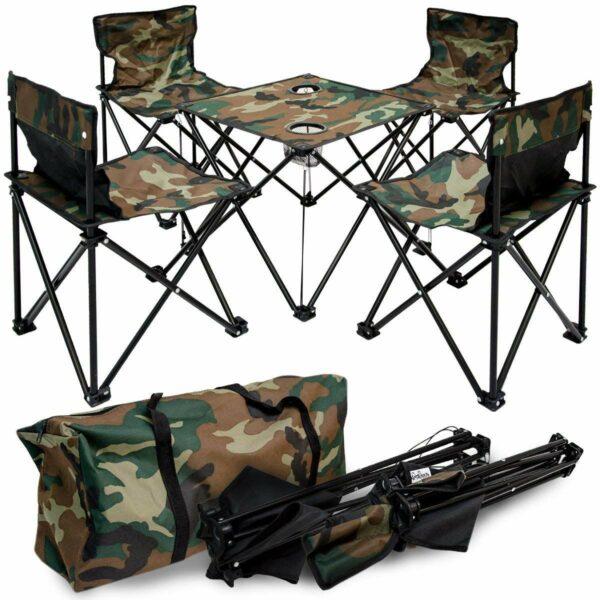 set per kamping tavoline dhe kater karrige ne shitje online ibuy al